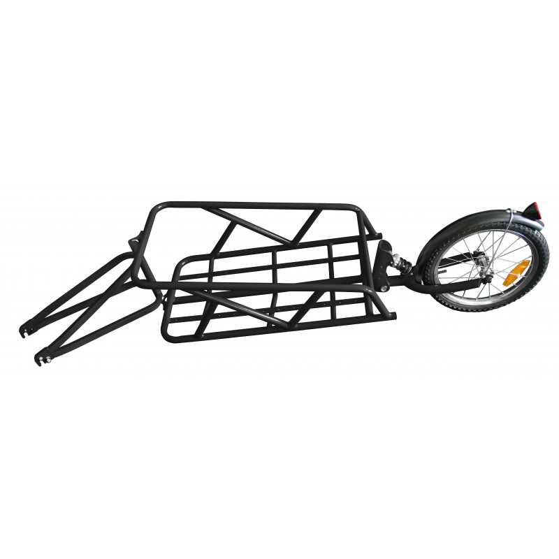 remorque mono roue avec amortisseur bike original. Black Bedroom Furniture Sets. Home Design Ideas