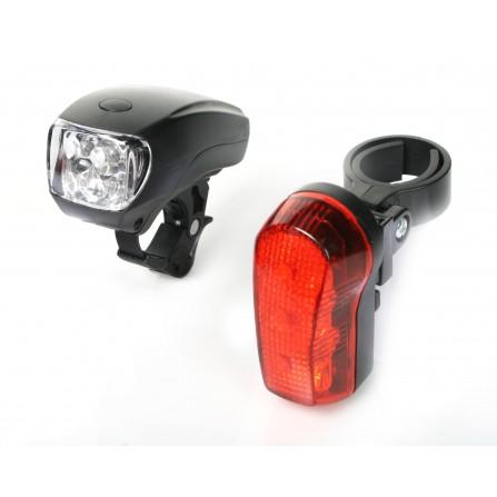 Kit éclairages vélo à led