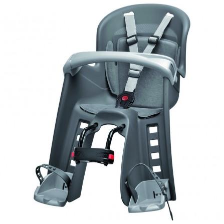 Porte bébé Bilby junior fixation avant gris foncé-silver