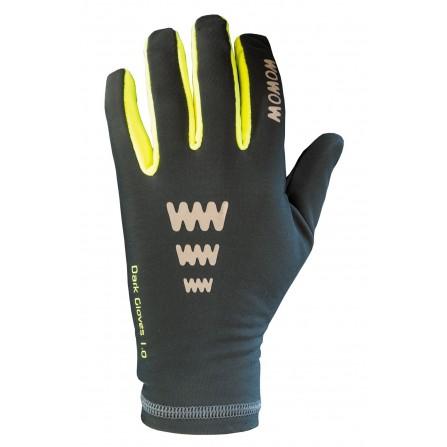 Gants réfléchissants gris foncé Dark Gloves 1.0