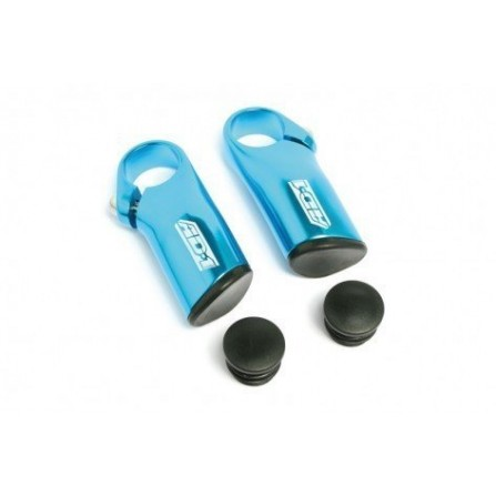 Prolongateurs de cintre court anodisé bleu