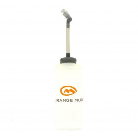 Flasque Orange Mud Hydrapak avec pipette 600ml