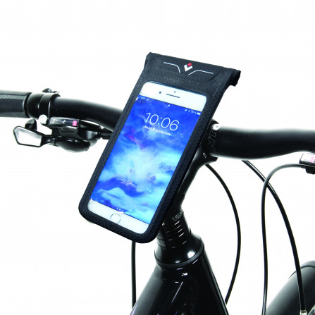 Sacoche smartphone 100% waterproof fixation multi-supports
