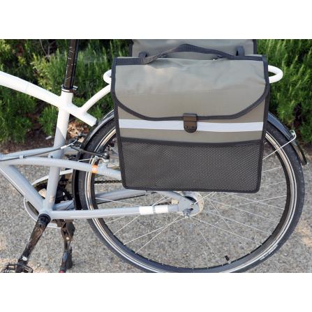 Sacoche vélo porte-bagage clips x2